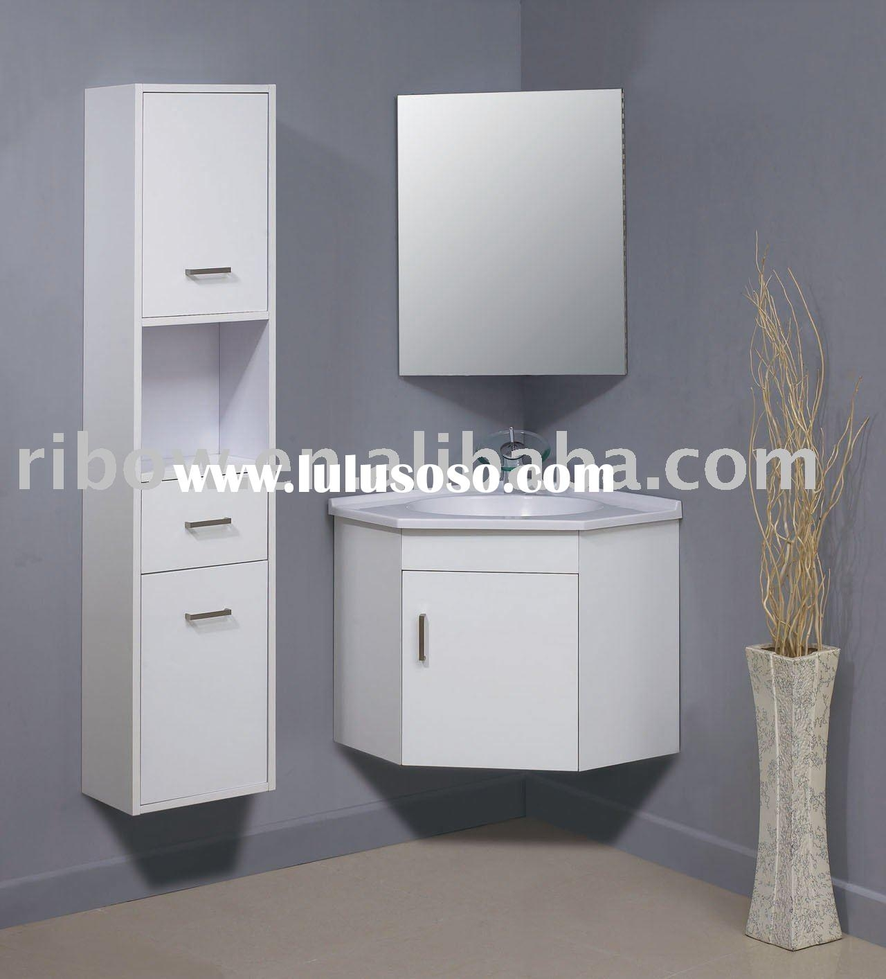 Corner Bathroom Wall Cabinet With Mirror