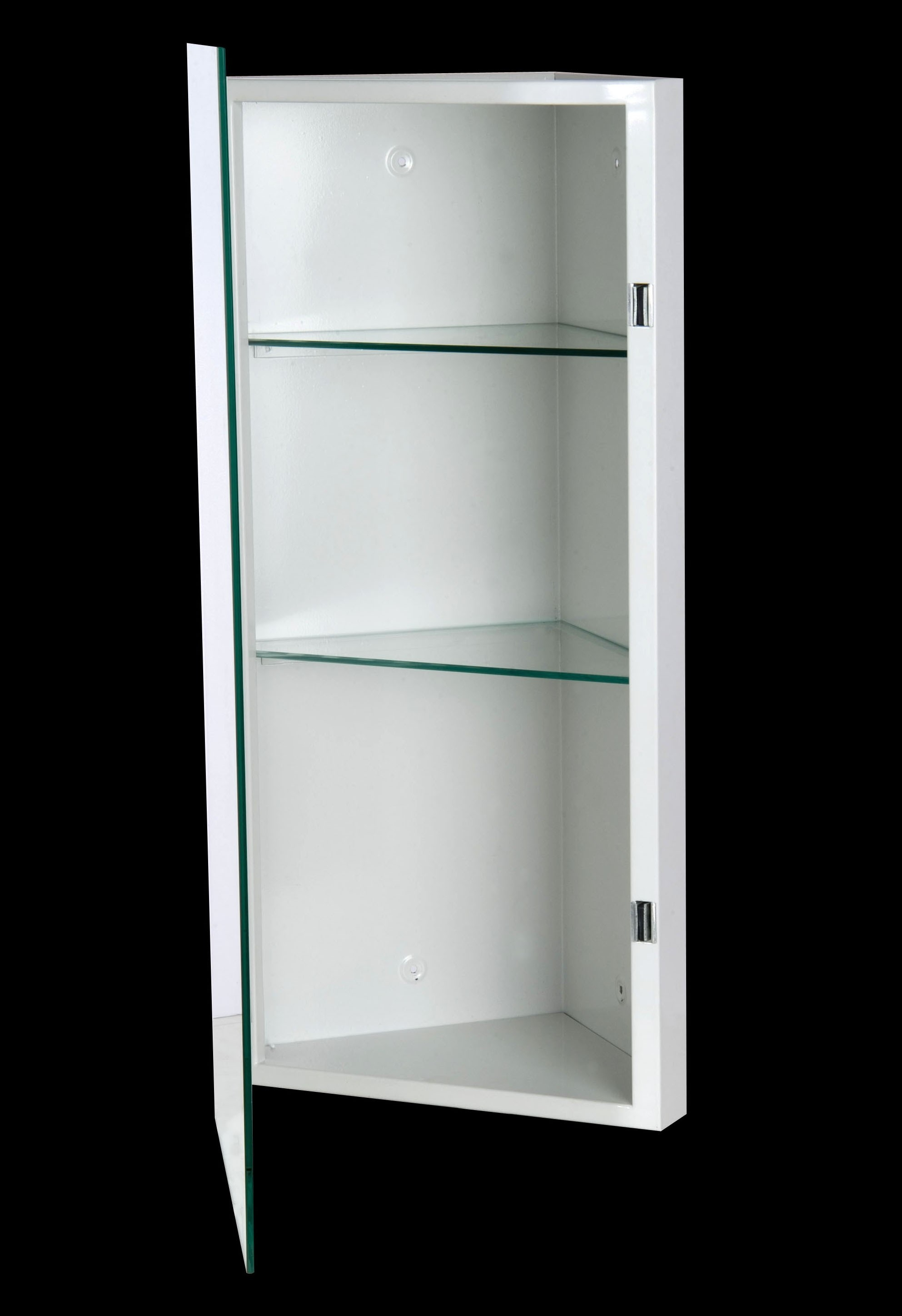 Corner Wall Cabinet With Mirror