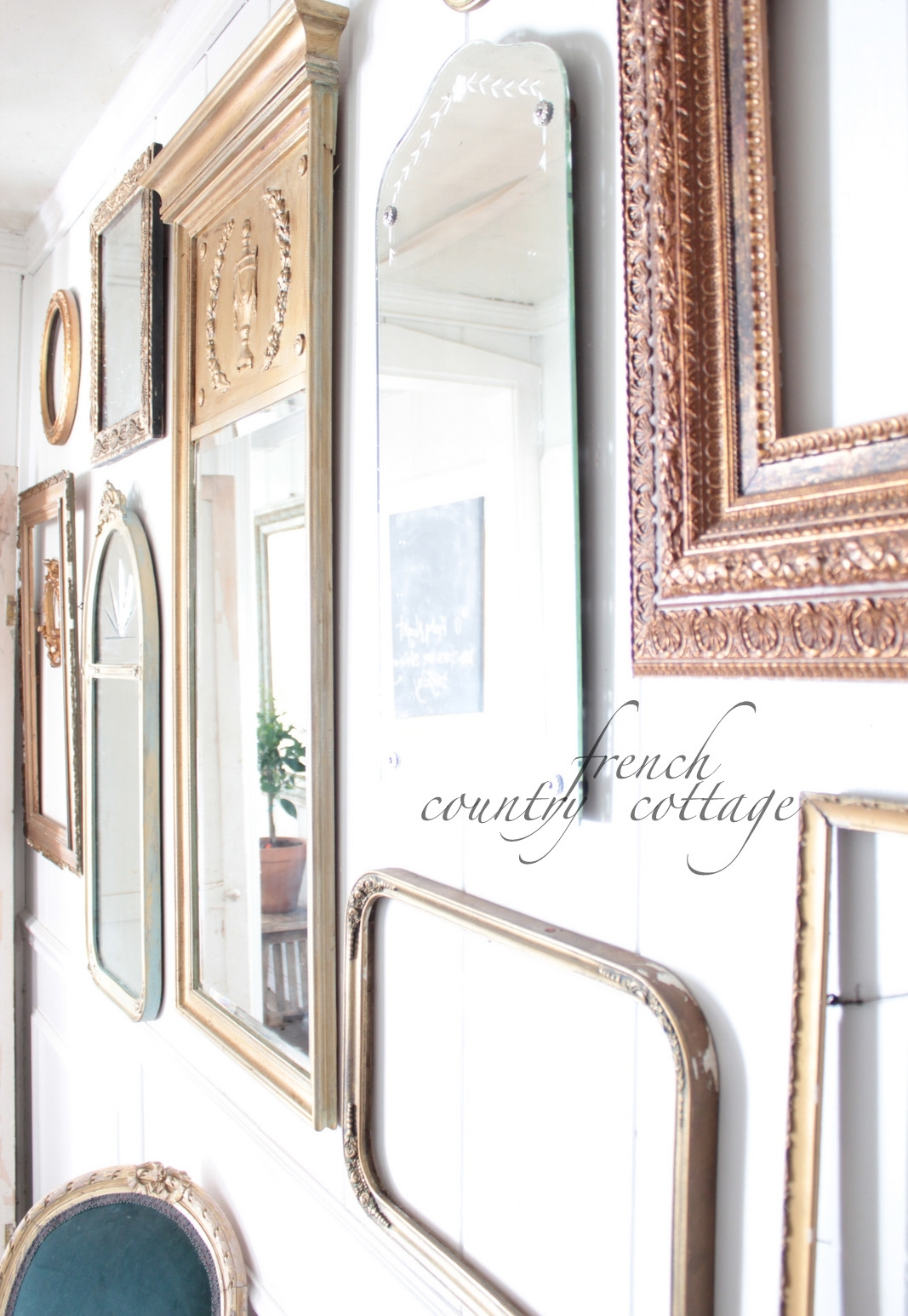 Country Cottage Wall Mirrors