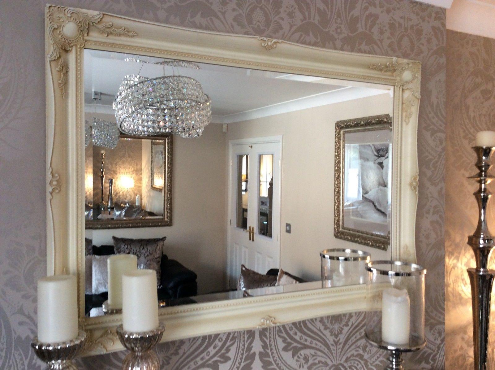 Cream Shabby Chic Wall Mirror Cream Shabby Chic Wall Mirror shab chic wall mirror harpsoundsco 1600 X 1195
