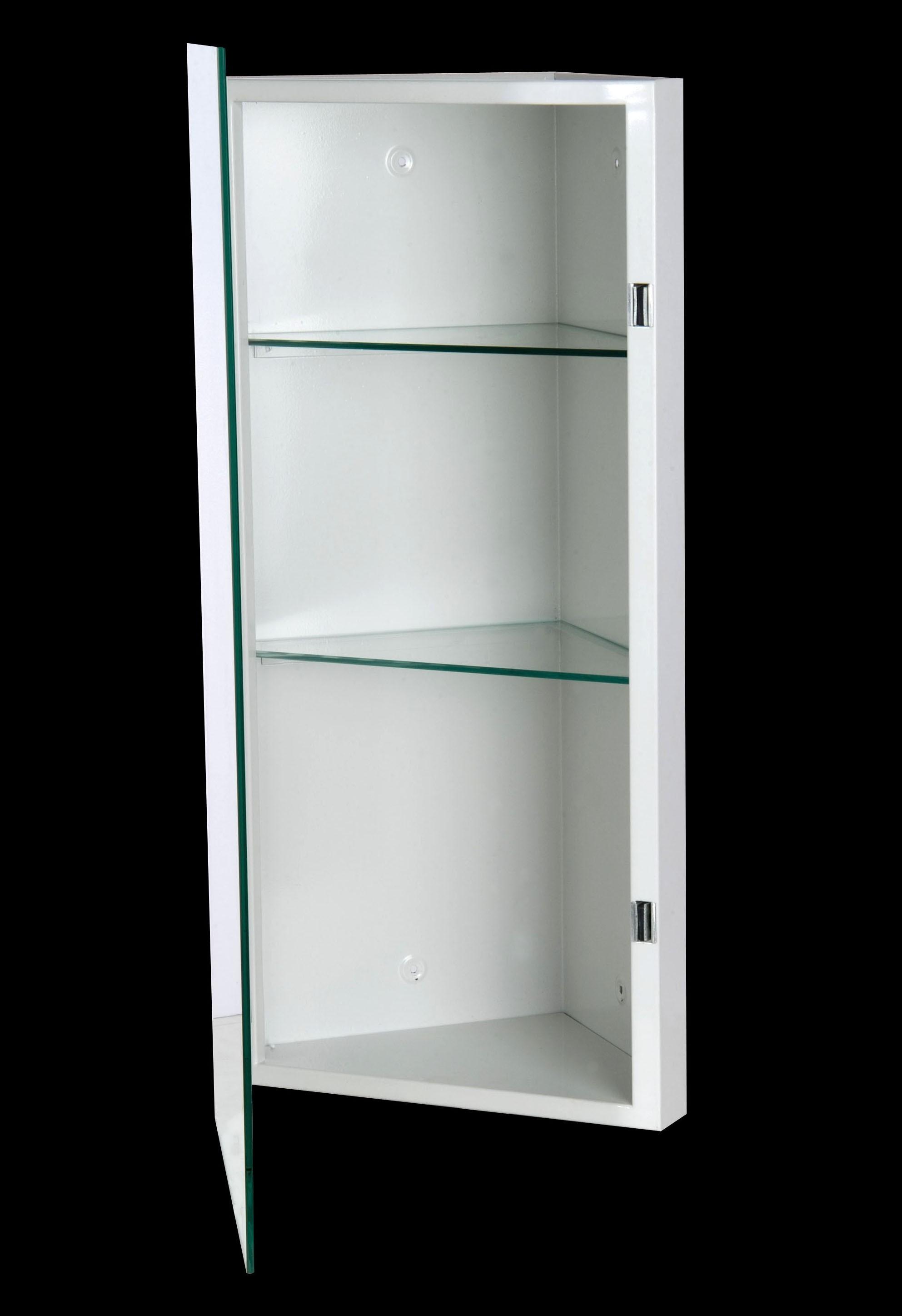 Croydex Simplicity Double Mirror Door Bathroom Cabinet