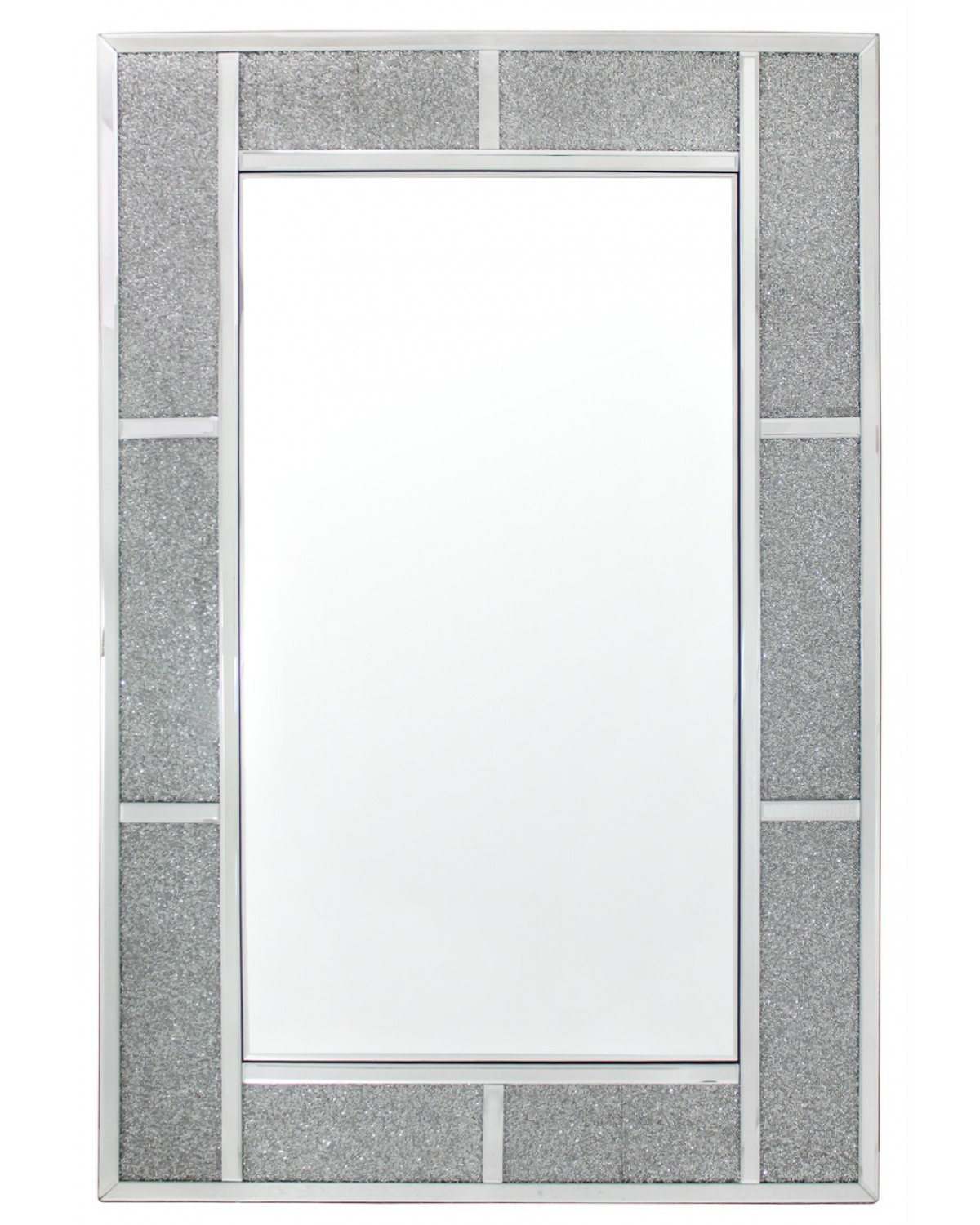 Crystal Effect Wall Mirror