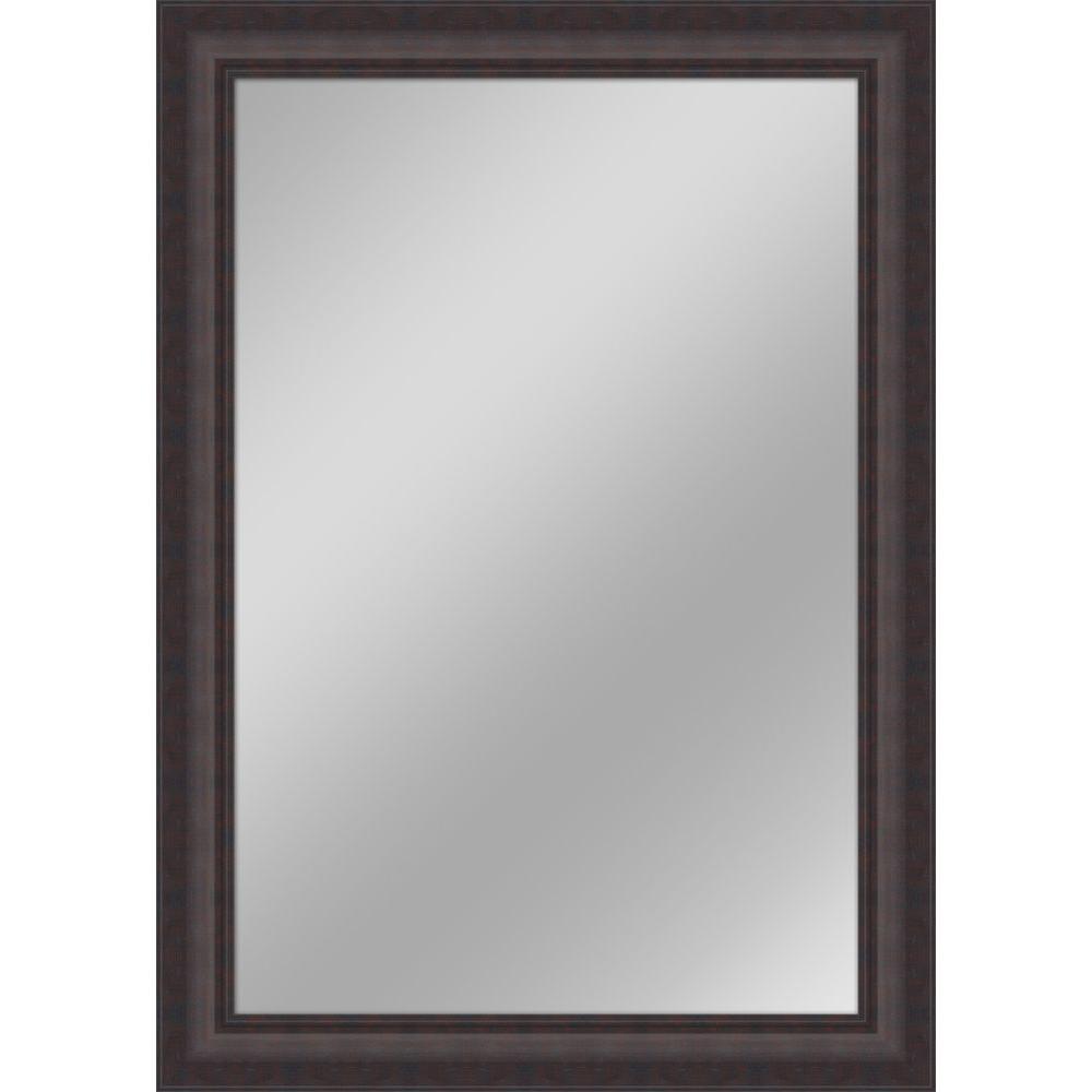 Dark Brown Wall Mirror