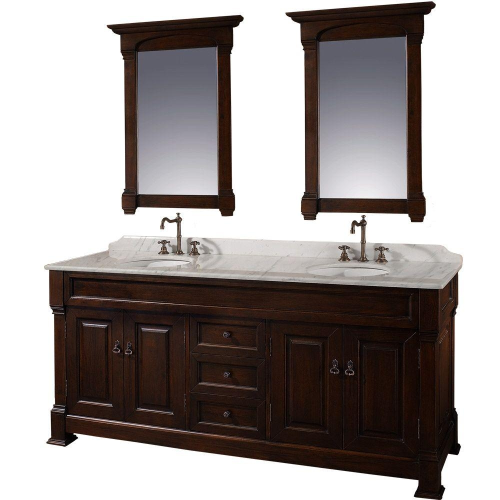 Dark Cherry Bathroom Mirrors