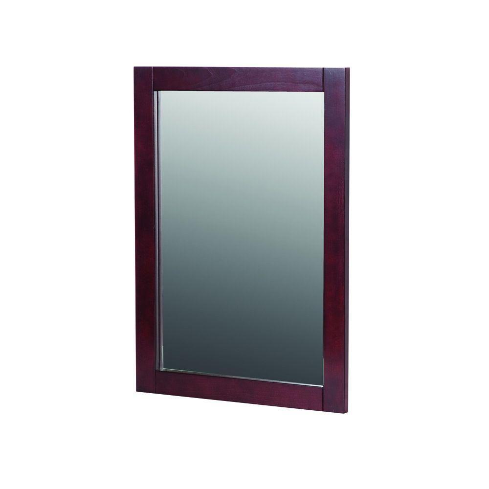 Dark Cherry Wall Mirror