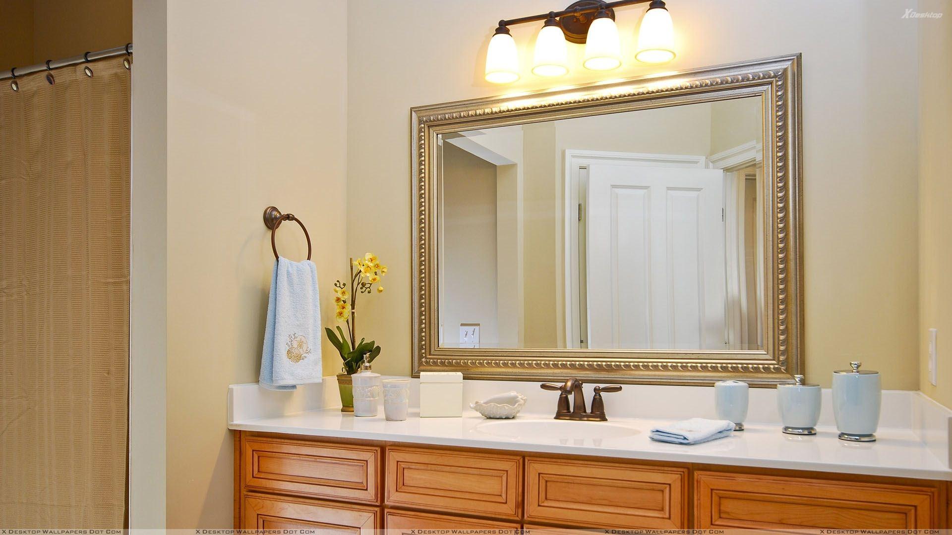 Decorative Framed Mirrors For Bathroom