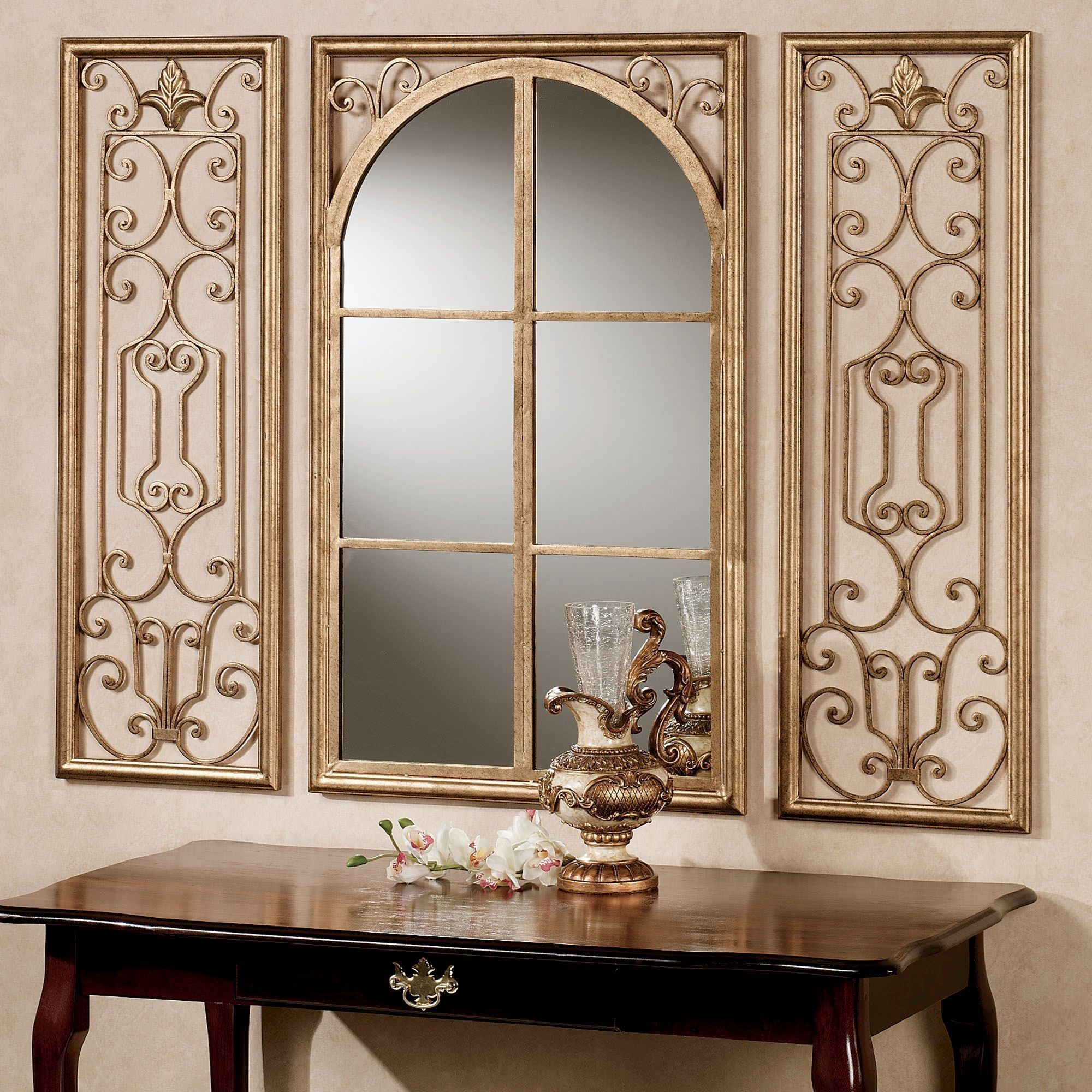 Decorative Gold Wall Mirrors