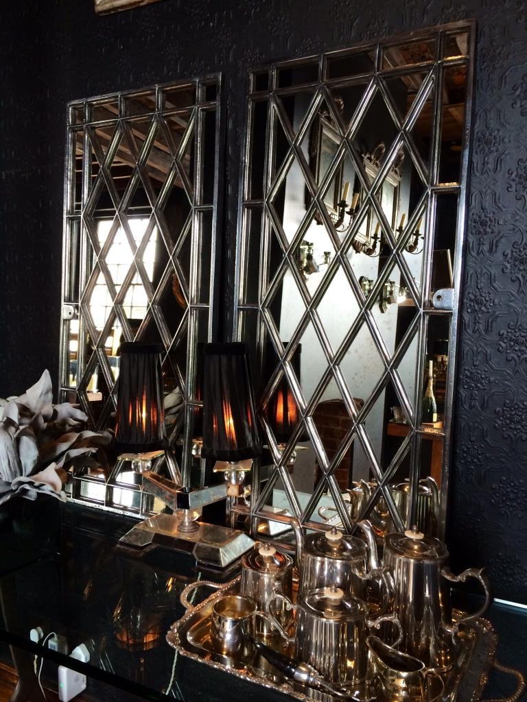 Decorative Mirrored Wall Panels
