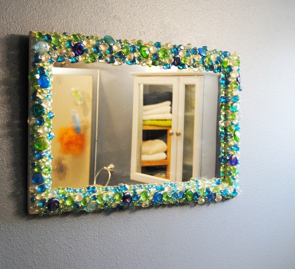 Diy Decorate Bathroom Mirror