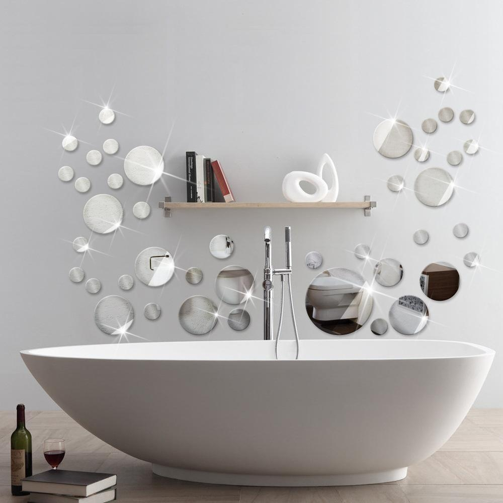 Dot Mirrors Wall Decals