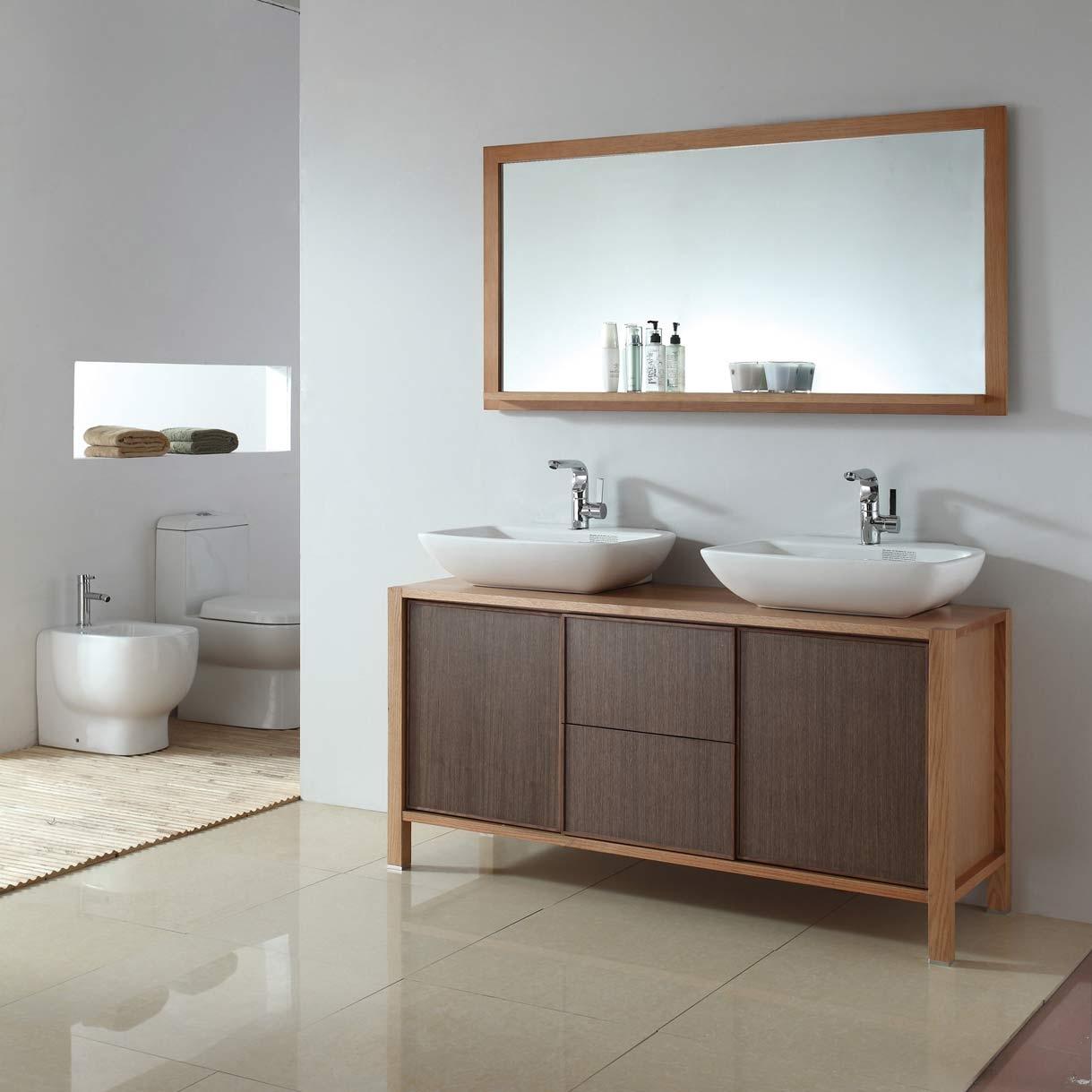 Elegant Bathroom Vanity Mirrors