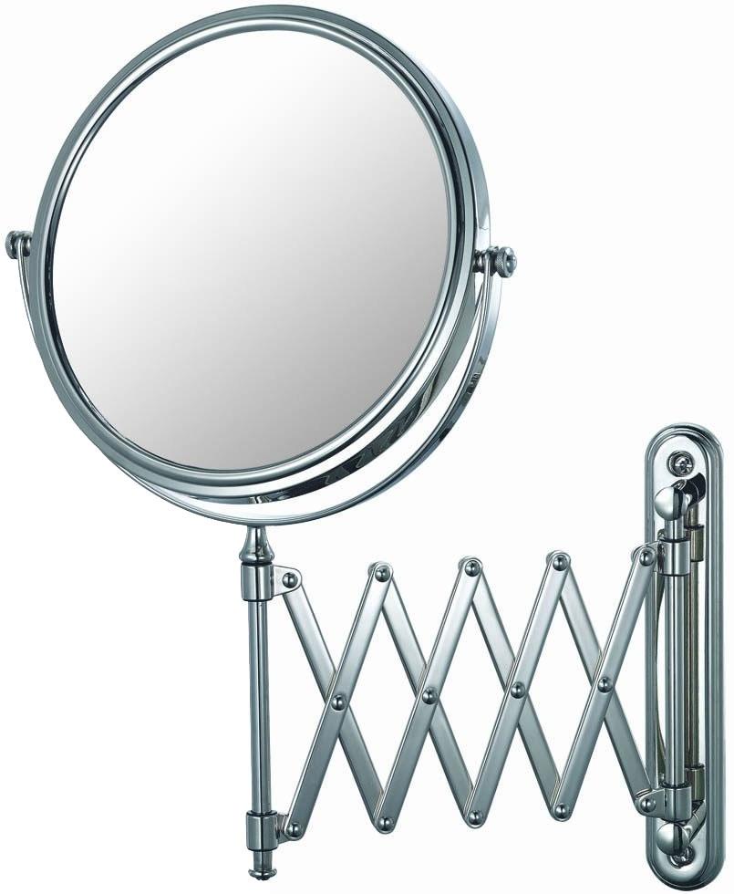 Extendable Bathroom Mirror Chrome