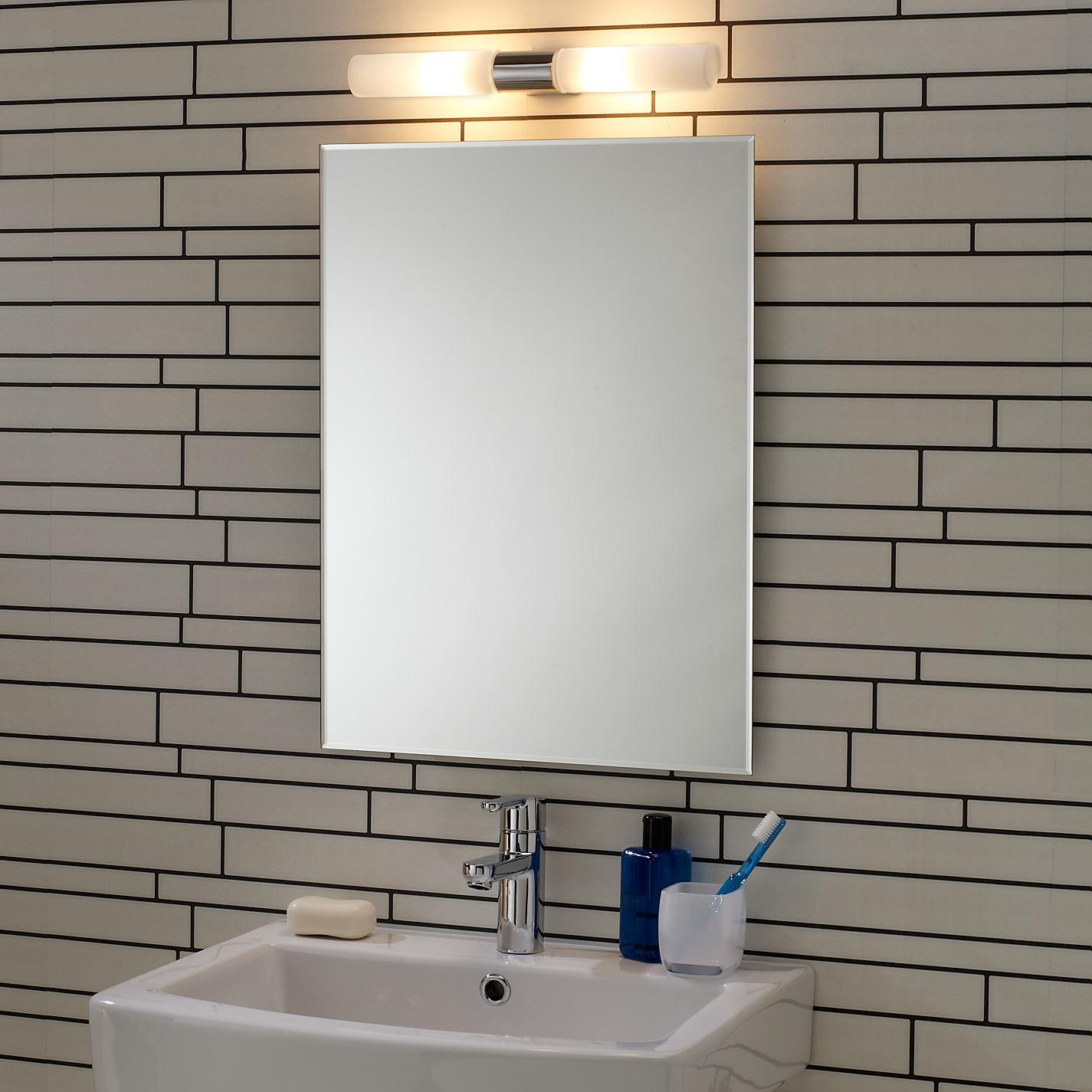 Extendable Bathroom Mirror With Light