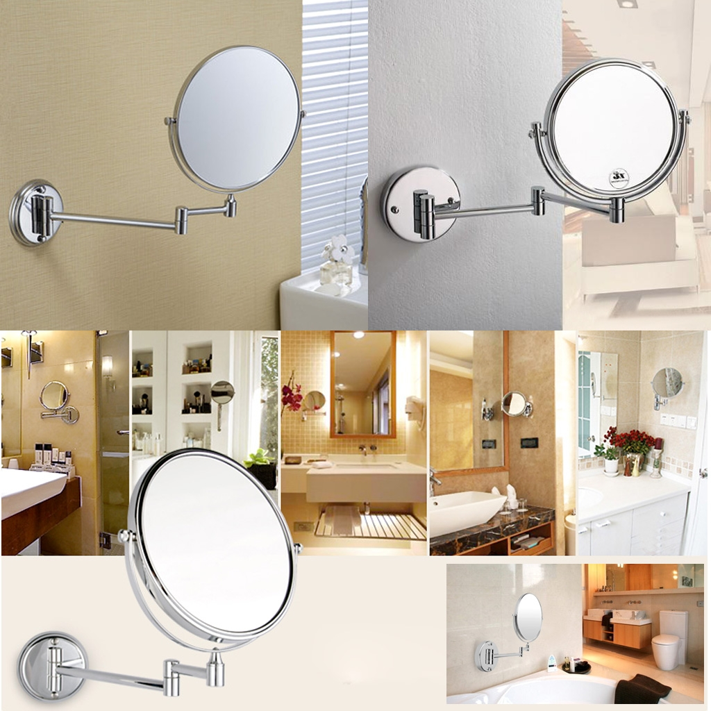Extendable Bathroom Shaving Mirrors