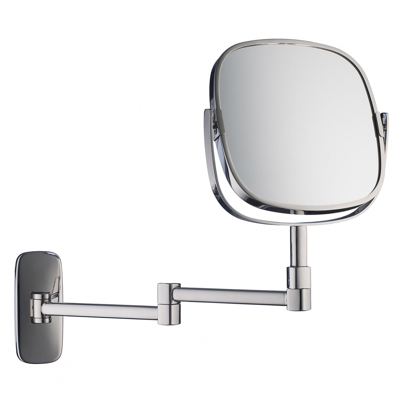 Extendable Magnifying Bathroom Mirror