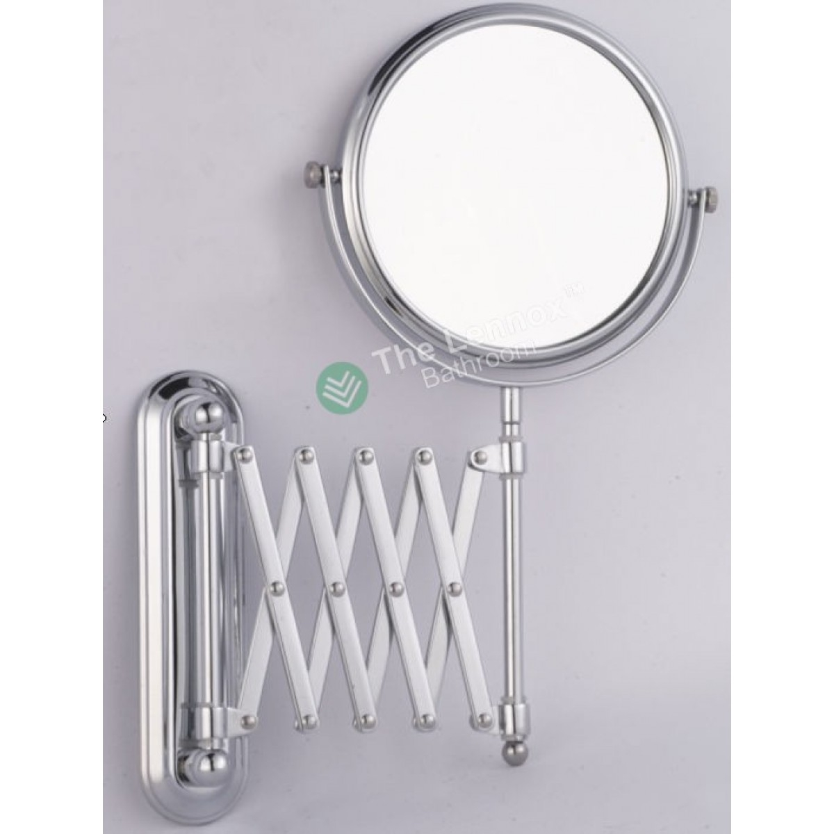 Extending Arm Bathroom Mirror