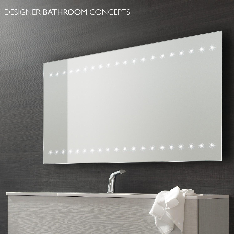 Extra Large Illuminated Bathroom Mirrors