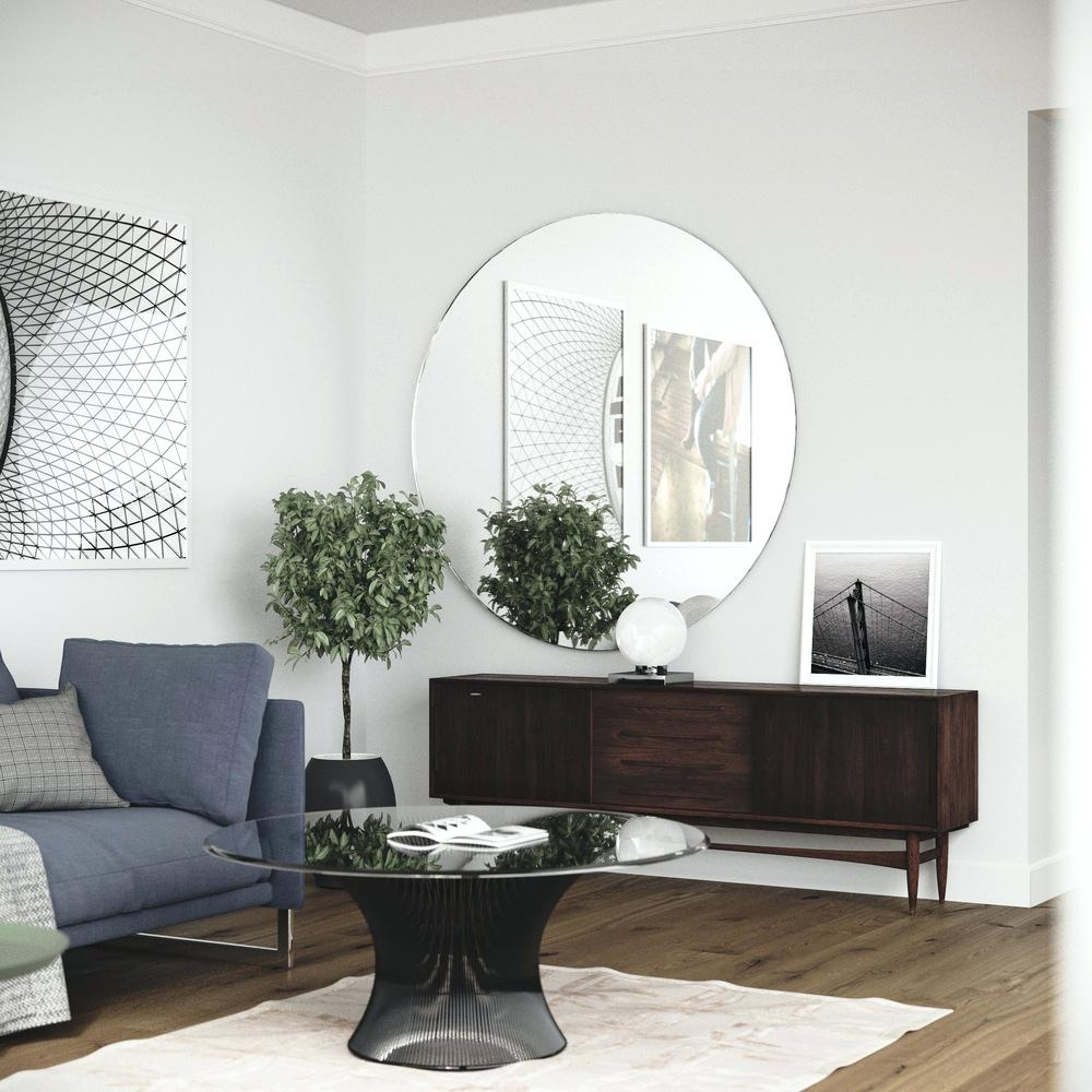 Extra Large Round Wall Mirrors