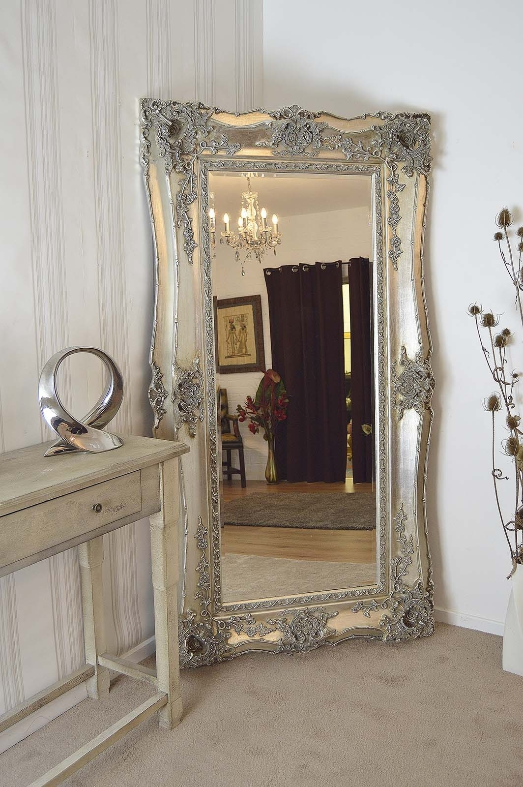 Extra Large Silver Wall Mirror