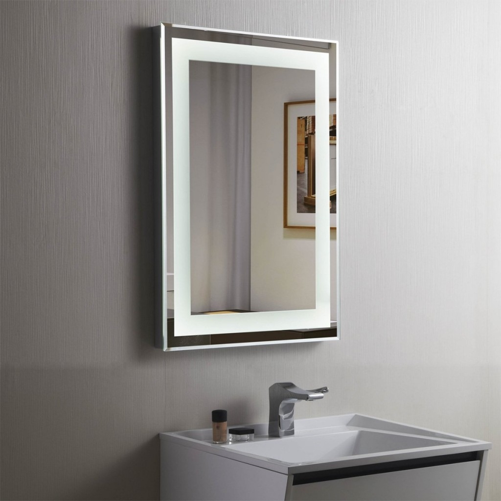 Extra Wide Mirrored Bathroom Cabinet