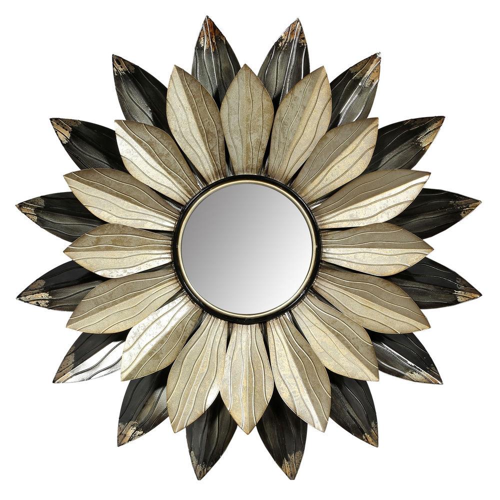 Flower Petal Wall Mirror