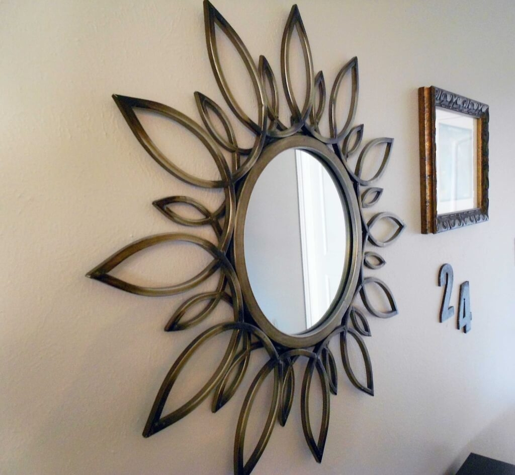 Flower Shaped Wall Mirrors
