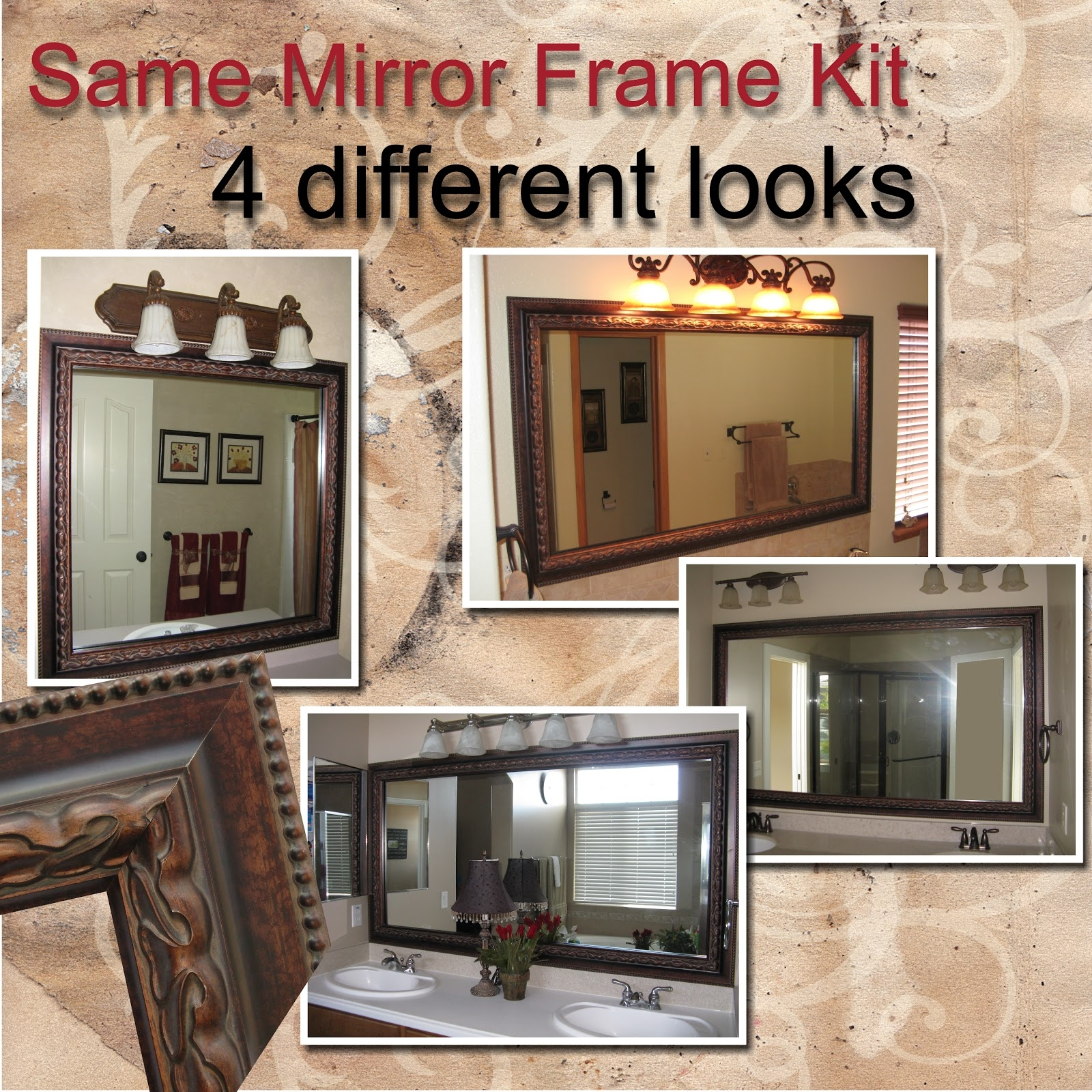 Frame Bathroom Mirror Kit