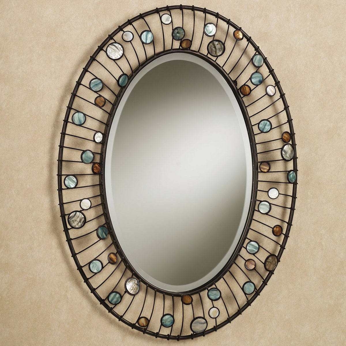 Frame For Oval Bathroom Mirror