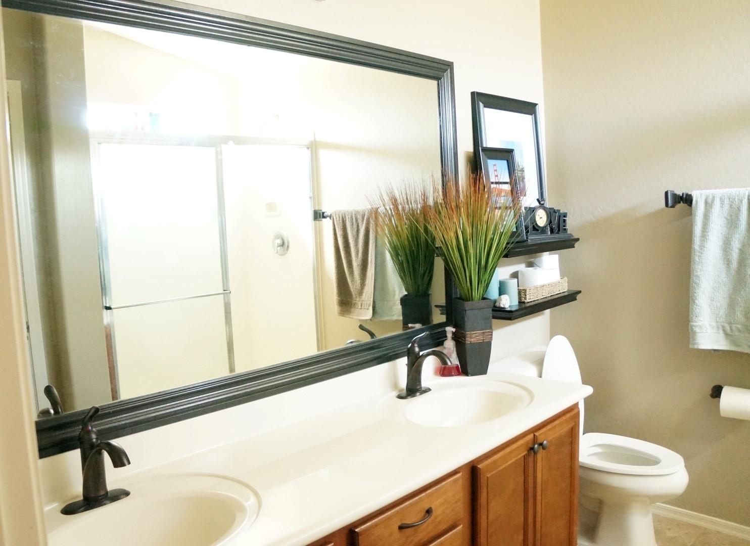 Framed Mirrors For The Bathroom