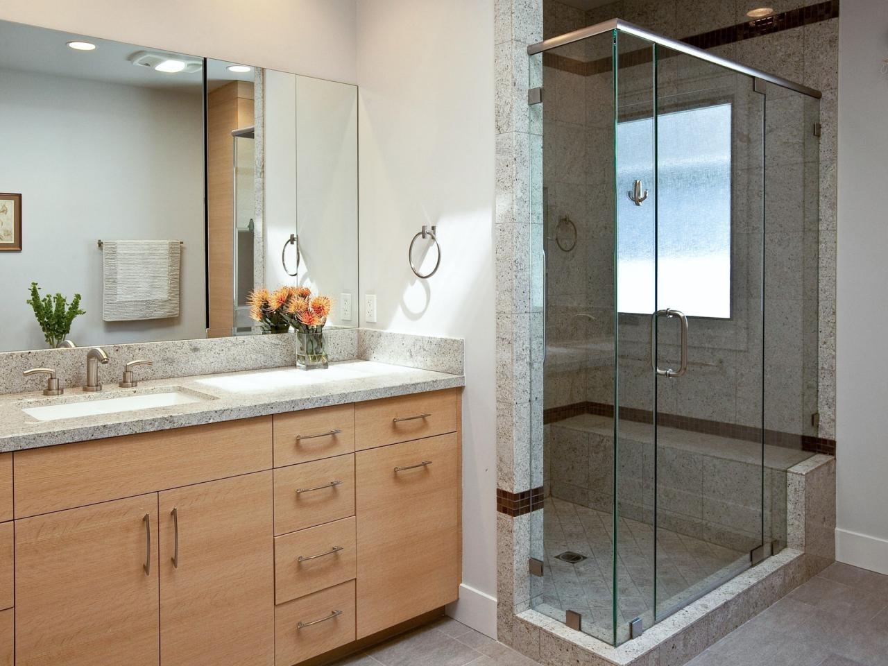 Frameless Mirror For Bathroom