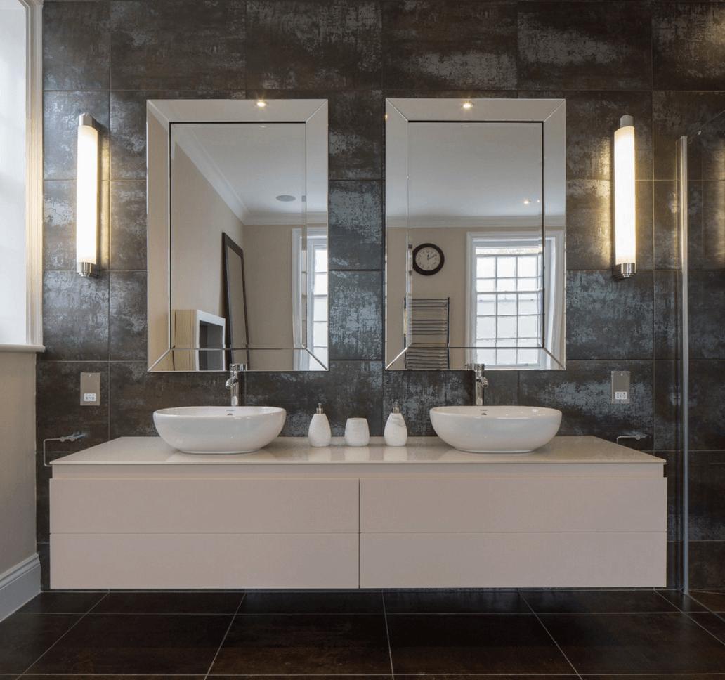 Funky Bathroom Mirror Ideas