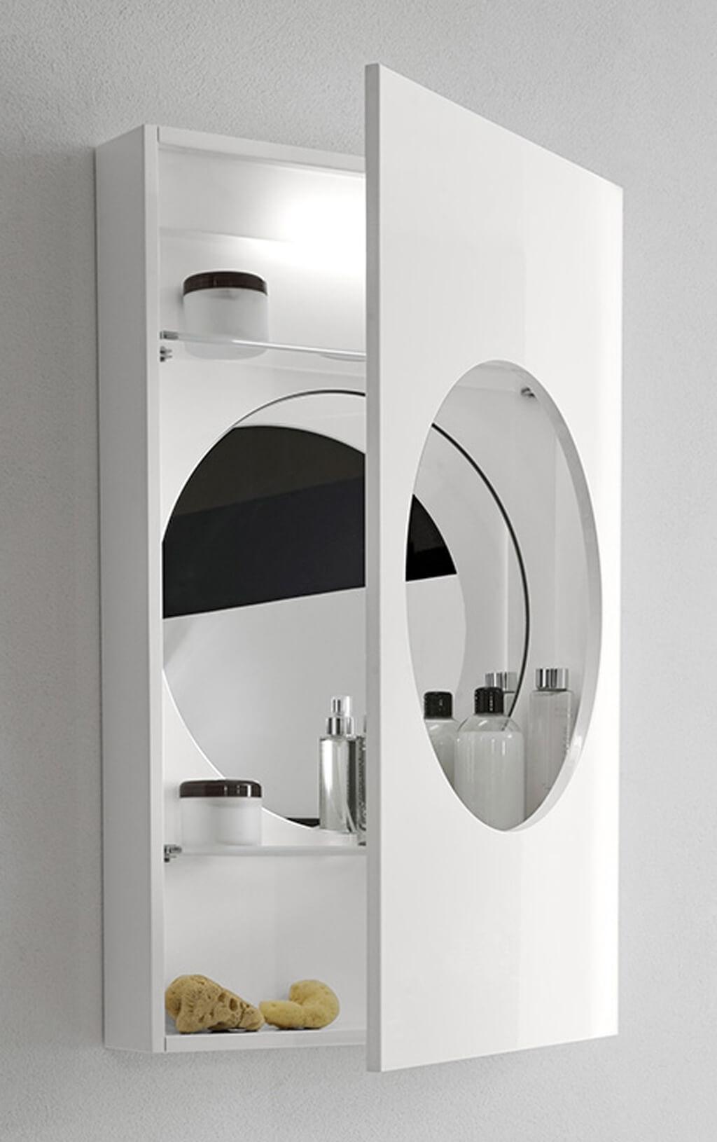Funky Bathroom Wall Mirrors
