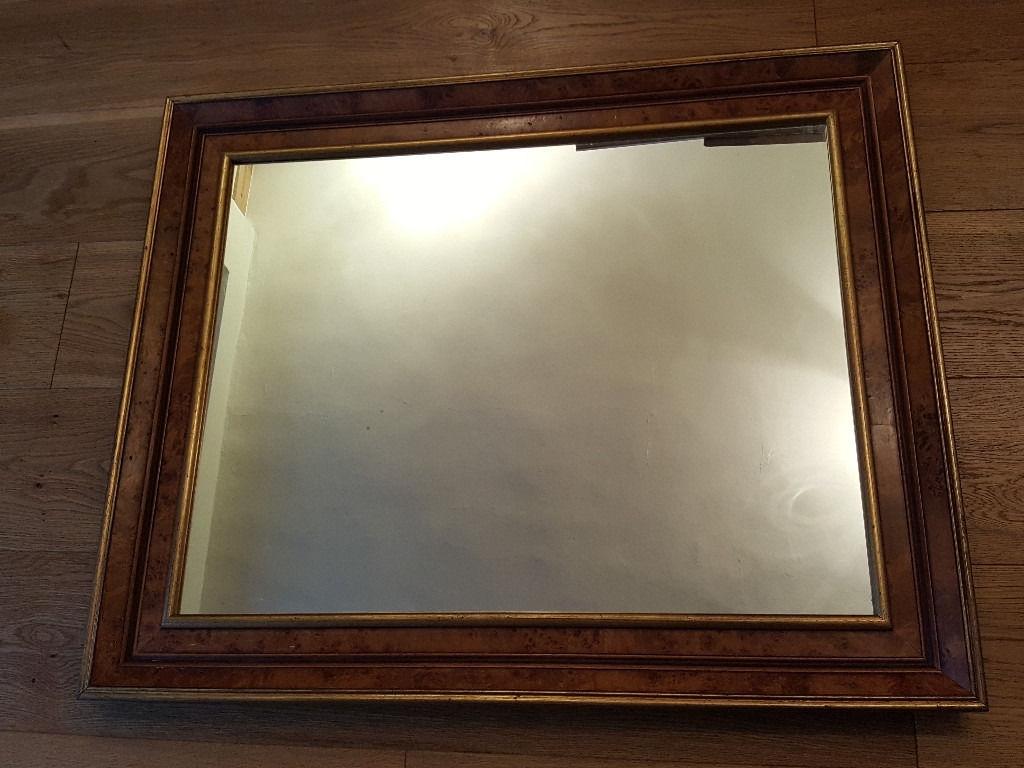 Gilt Edged Wall Mirror