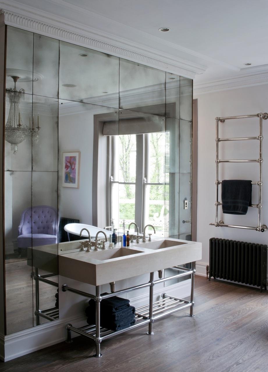 Glass Mirror Wall Ideas