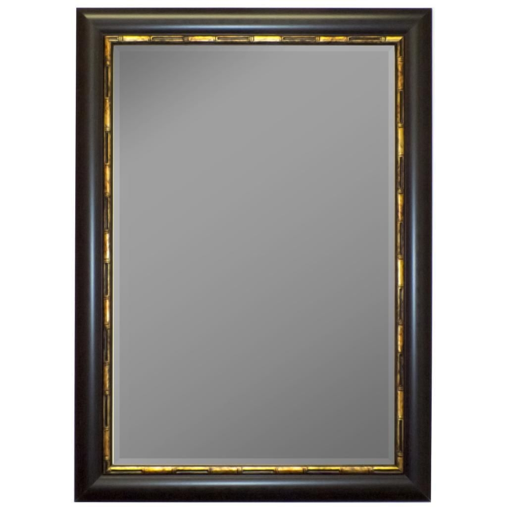 Gold Bamboo Wall Mirror Gold Bamboo Wall Mirror panda mahogany gold bamboo trim framed wall mirror second look 1024 X 1024