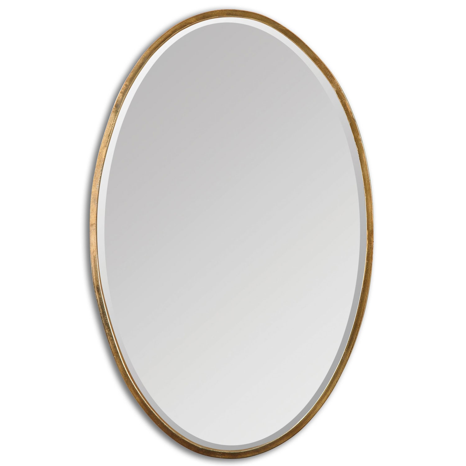 Permalink to Gold Oval Bathroom Mirror