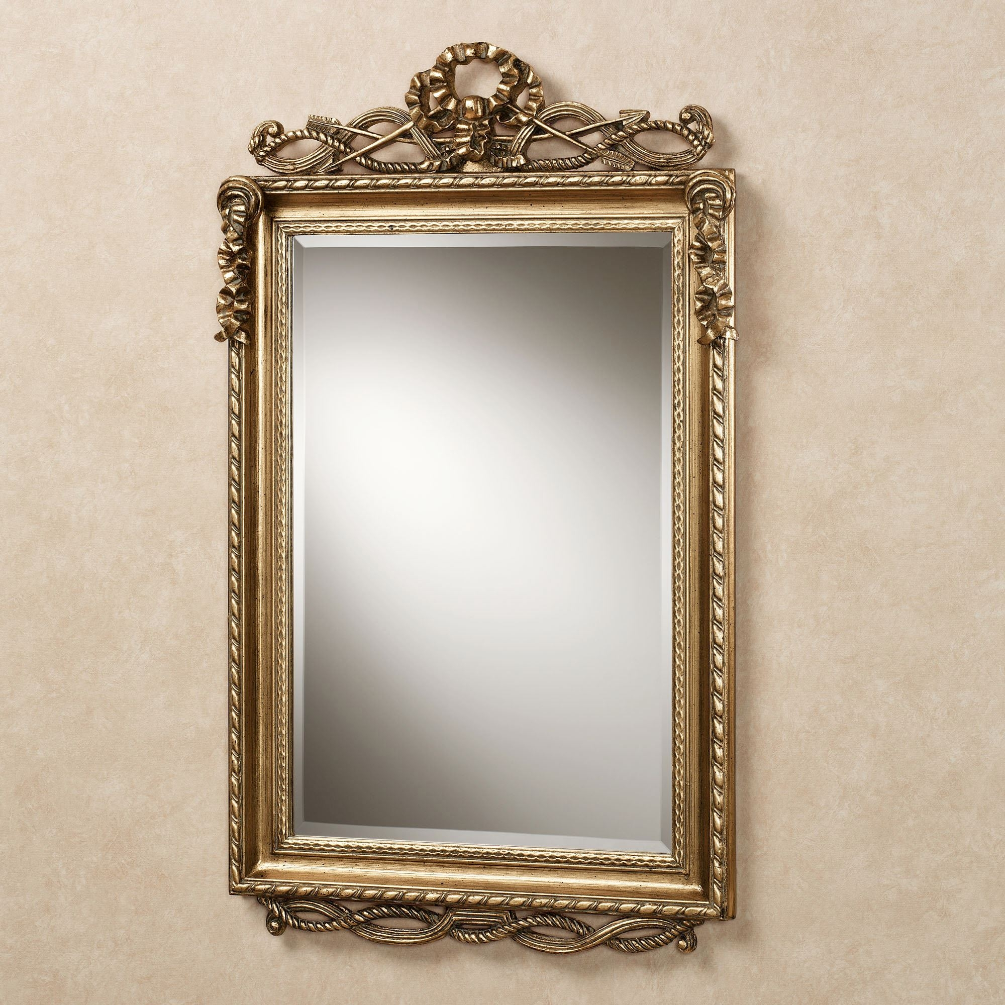 Gold Rectangle Wall Mirrors