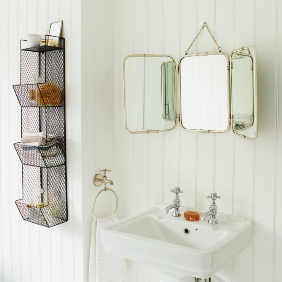 Hanging Bathroom Mirror Ideas