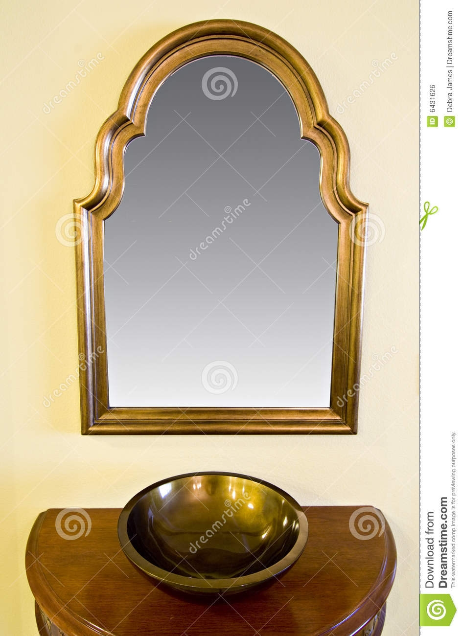 Hanging Mirror On Wall