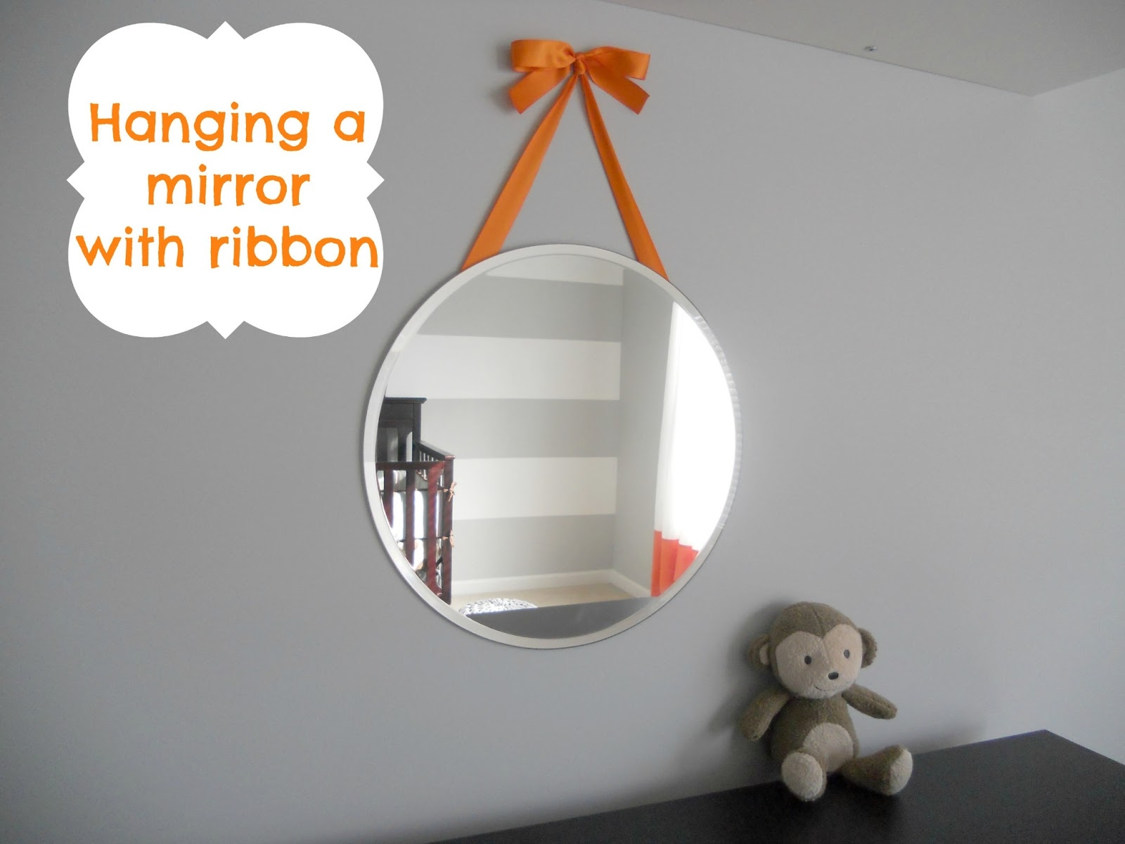 Hanging Wall Mirror With Ribbon Hanging Wall Mirror With Ribbon decorating cents hanging a mirror with ribbon 1600 X 1200