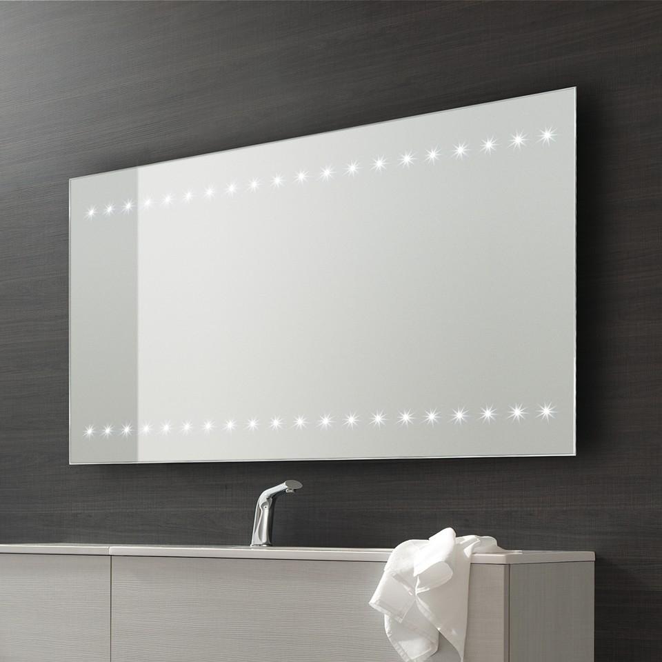 Heated Bathroom Mirror Led