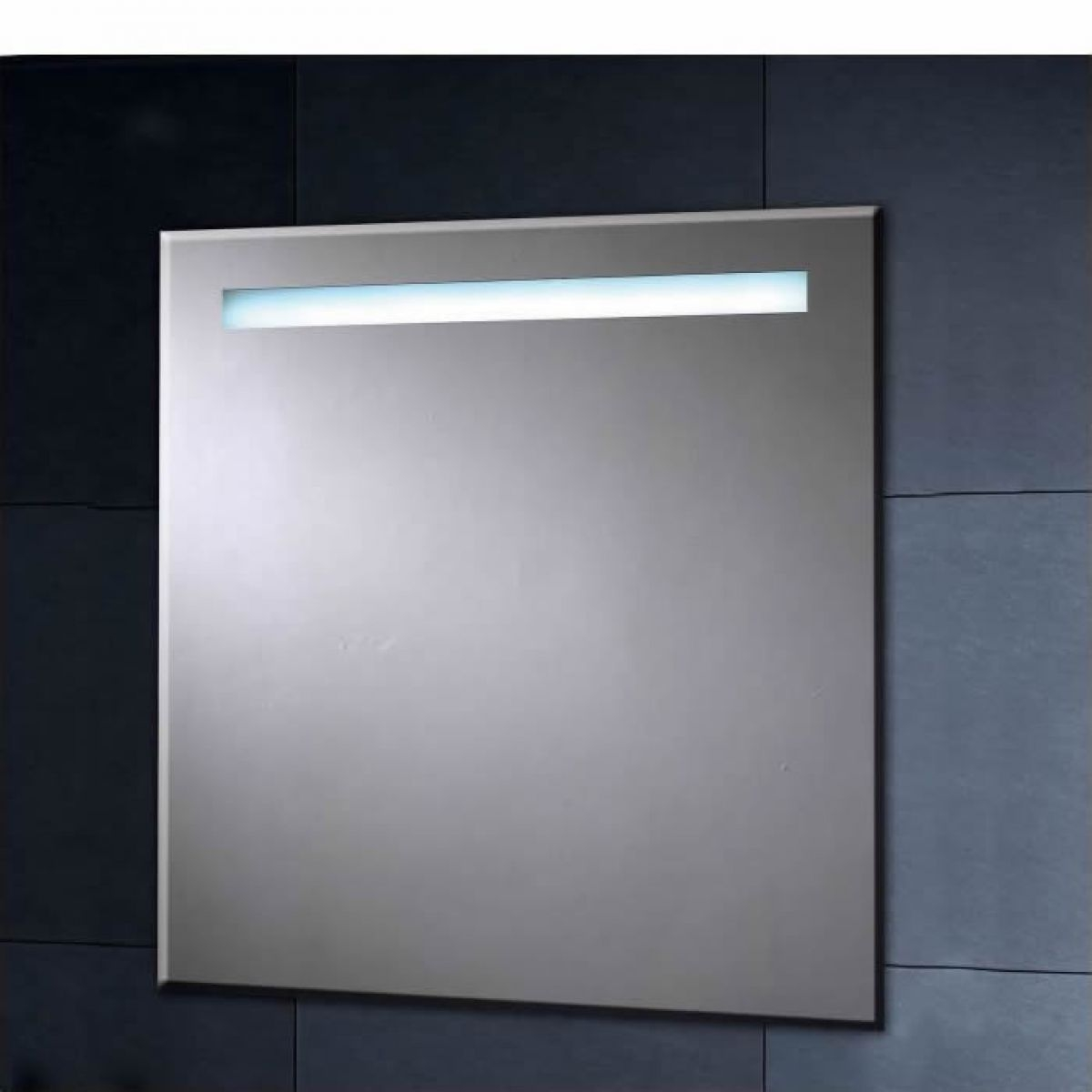 Heated Bathroom Mirror With Shaver Socket