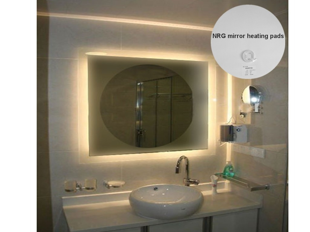 Heated Mirror Bathroom Pads