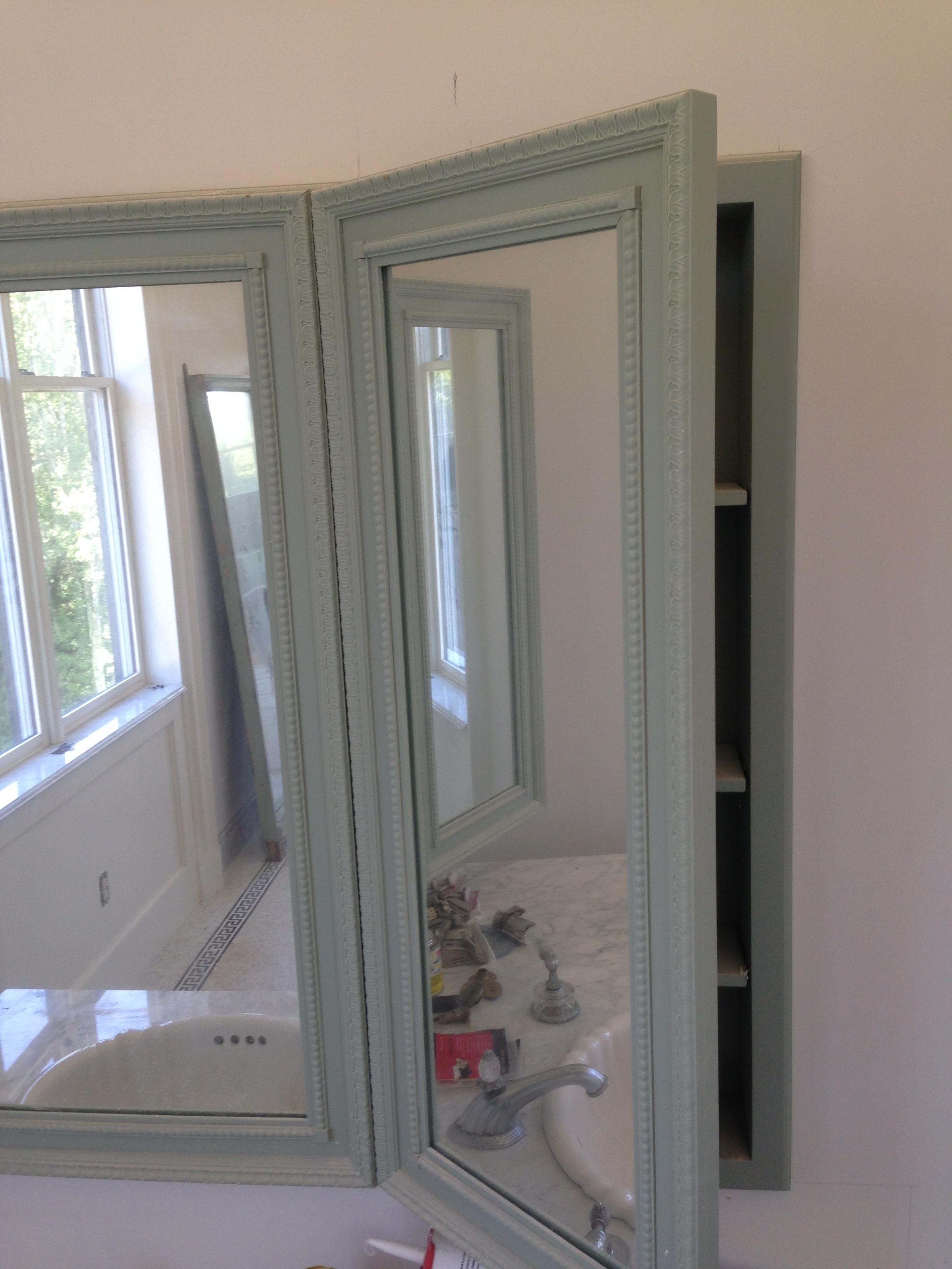 Hinged Bathroom Wall Mirror