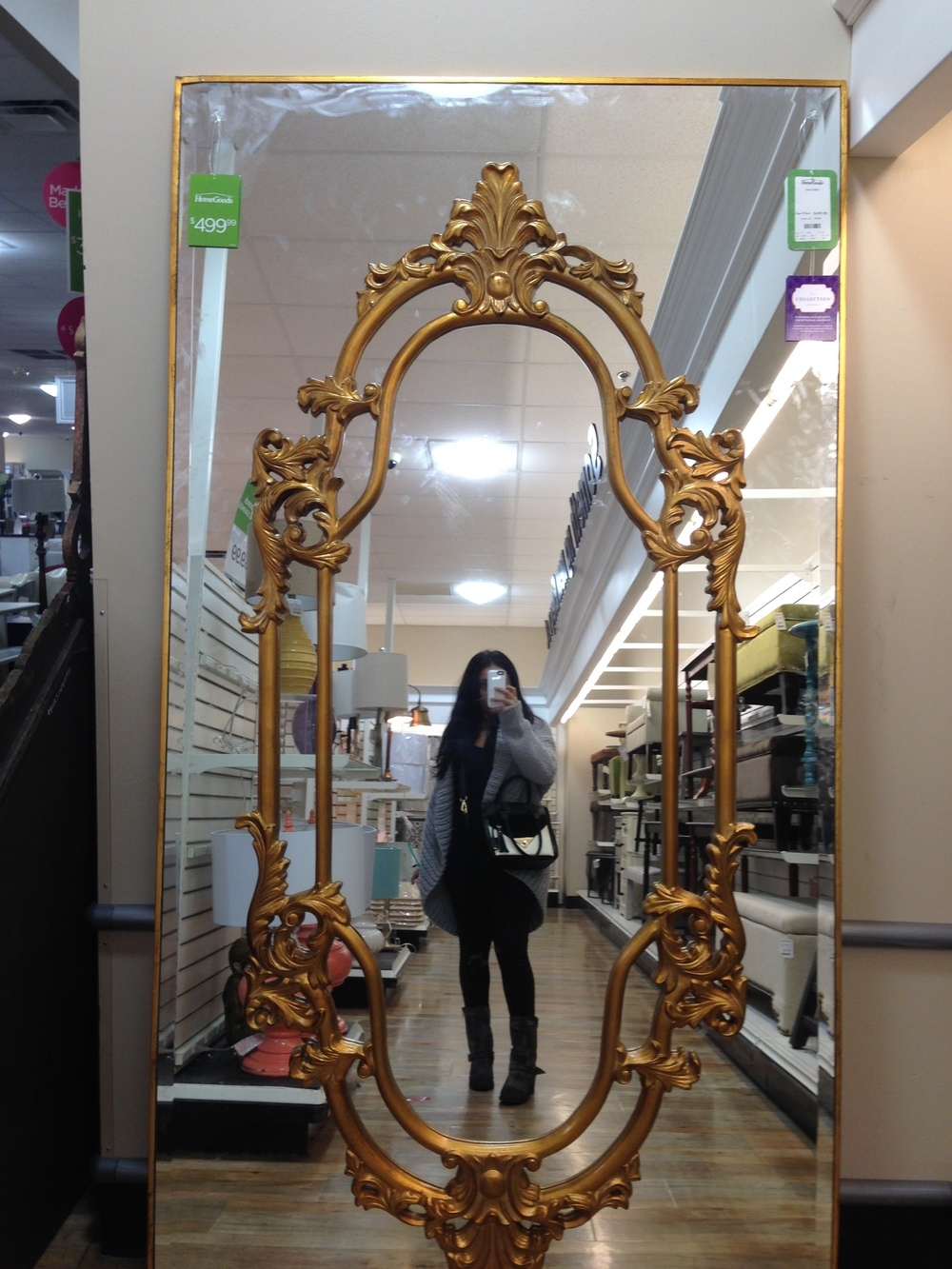 Home Goods Large Wall Mirrors