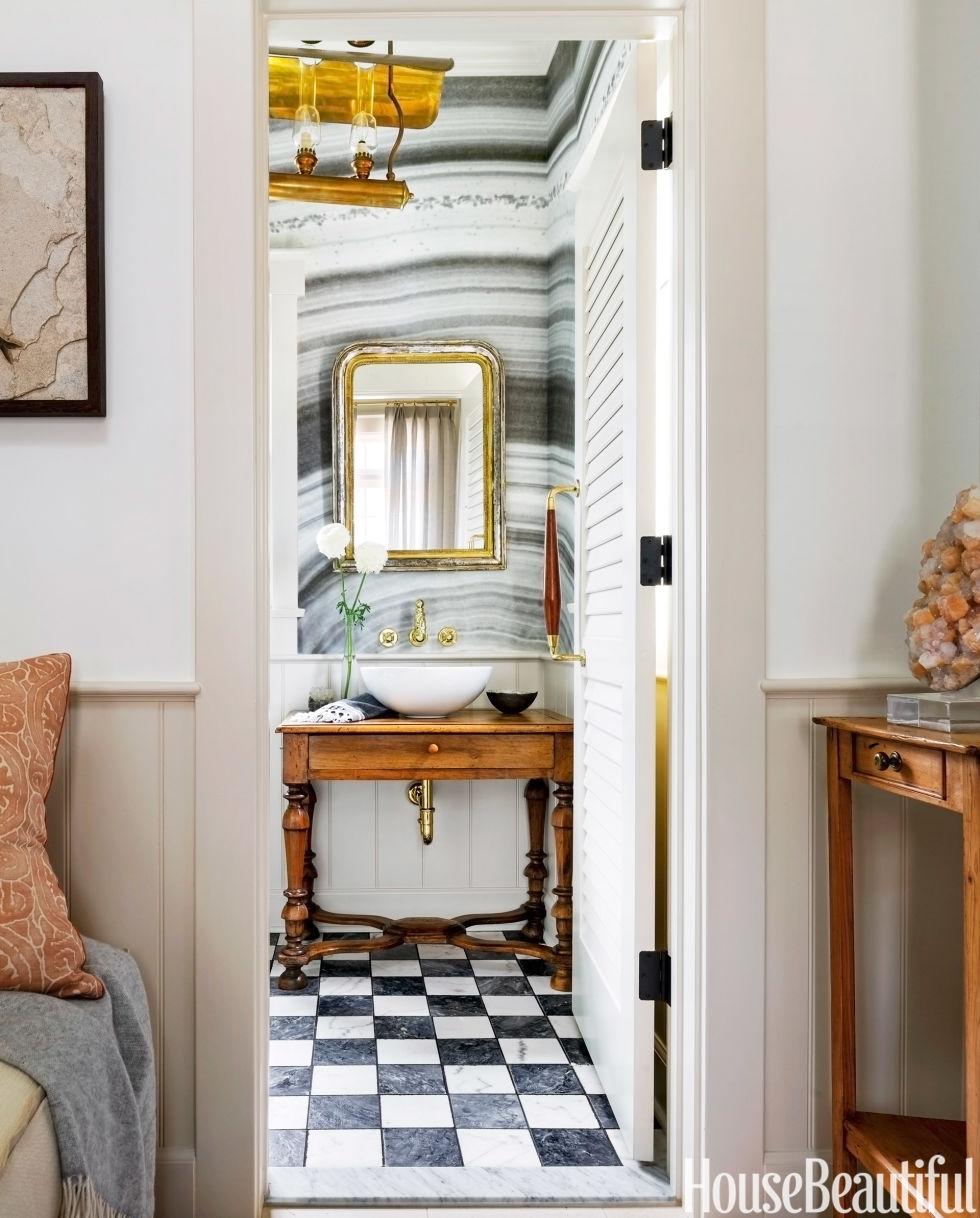 House Beautiful Bathroom Mirrors