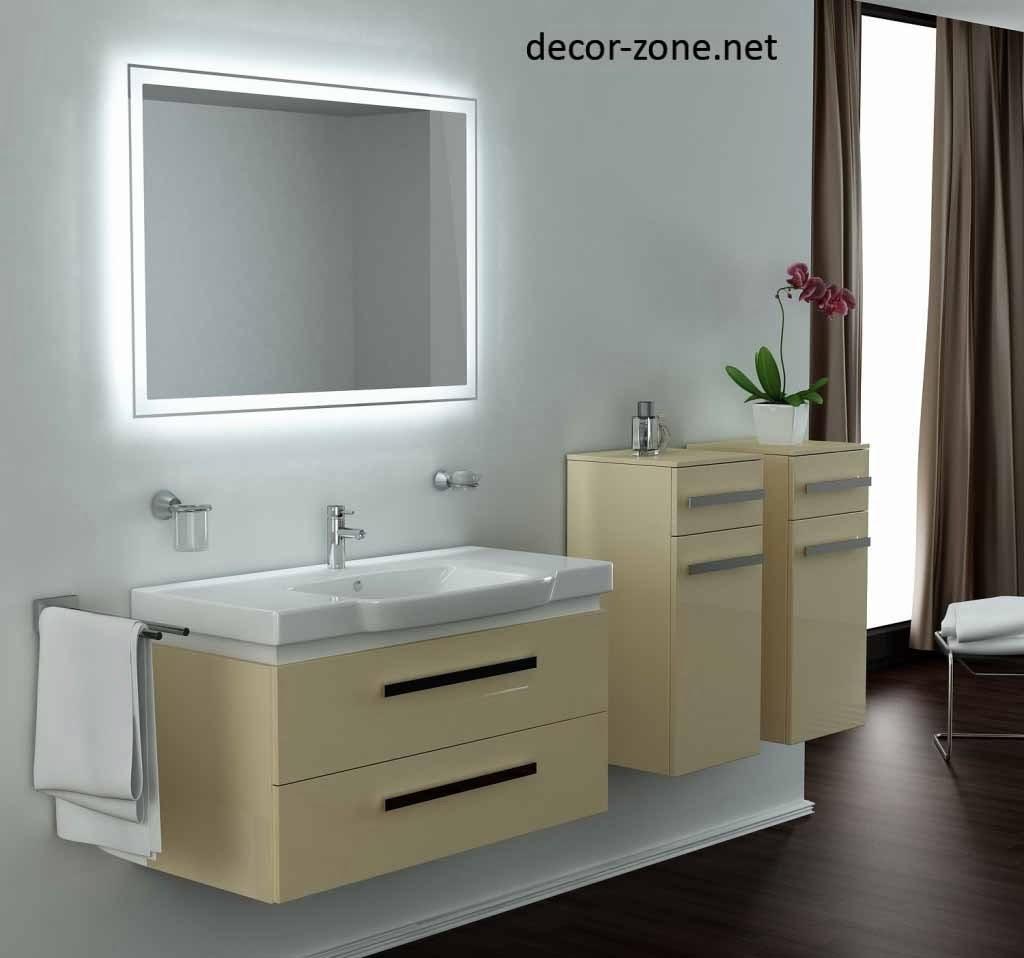 Ideas For Bathroom Mirror And Lighting