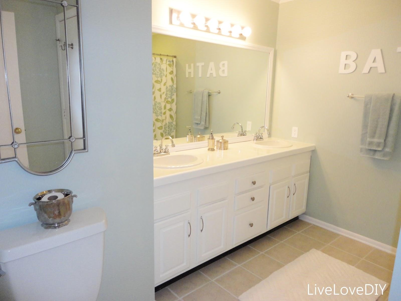 Ideas Update Bathroom Mirror