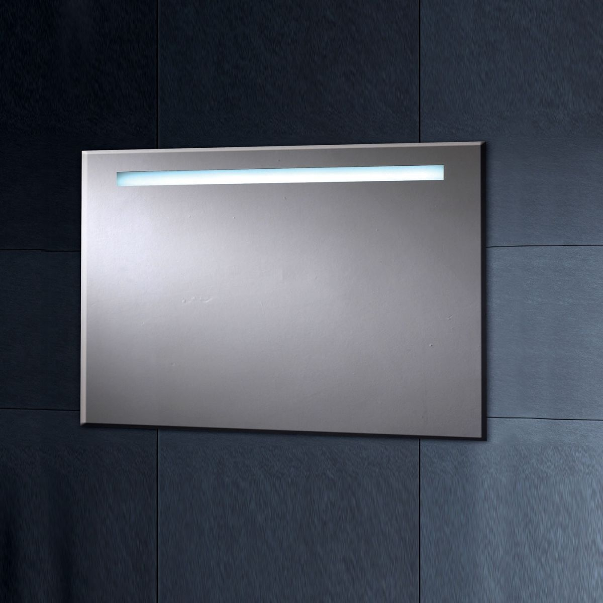 Illuminated Bathroom Mirror With Shaver Point