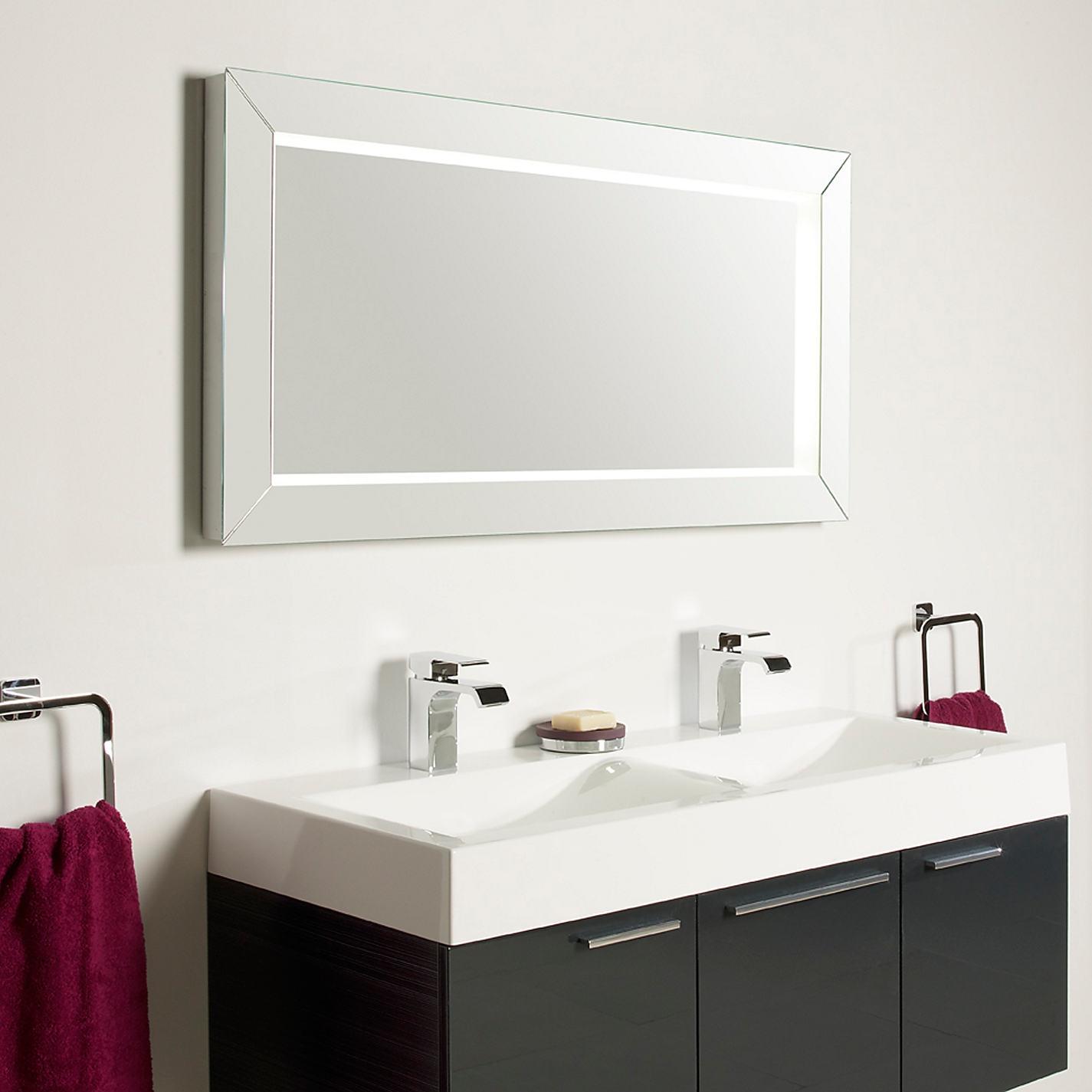 Illuminated Bathroom Mirrors John Lewis